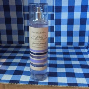 Bath body works lavender sandalwood oil fragrance